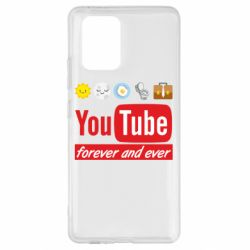 Чохол для Samsung S10 Forever and ever emoji's life youtube