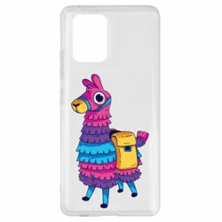 Чехол для Samsung S10 Lite Fortnite colored llama