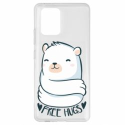 Чохол для Samsung S10 Free hugs bear