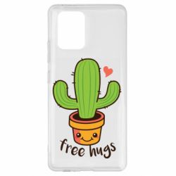 Чохол для Samsung S10 Free Hugs Cactus