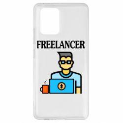 Чехол для Samsung S10 Lite Freelancer text