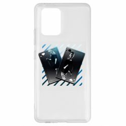 Чехол для Samsung S10 Lite Gambling Cards The Witcher and Cyrilla