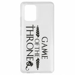 Чохол для Samsung S10 Game of thrones stylized logo