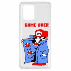 Чехол для Samsung S10 Lite Game Over Mario
