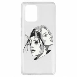 Чехол для Samsung S10 Lite Girl and demon