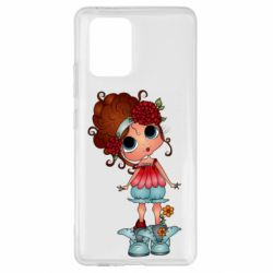 Чехол для Samsung S10 Lite Girl with big eyes
