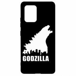 Чохол для Samsung S10 Godzilla and city