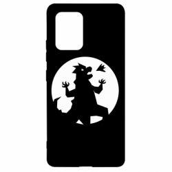 Чехол для Samsung S10 Lite Godzilla and moon