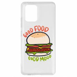 Чехол для Samsung S10 Lite Good Food