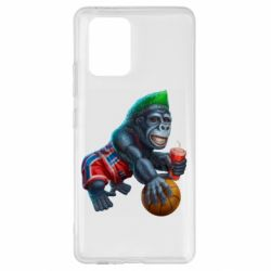 Чохол для Samsung S10 Gorilla and basketball ball