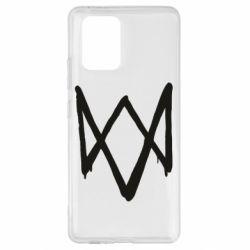 Чехол для Samsung S10 Lite Graffiti Watch Dogs logo
