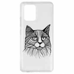 Чохол для Samsung S10 Graphic cat
