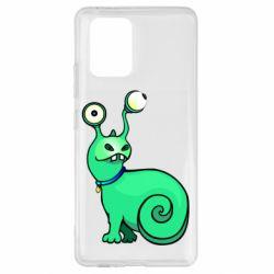 Чехол для Samsung S10 Lite Green monster snail
