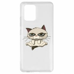 Чохол для Samsung S10 Grumpy Cat Art nope