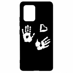 Чехол для Samsung S10 Lite Hands and heart