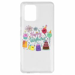 Чохол для Samsung S10 Happy Birthday