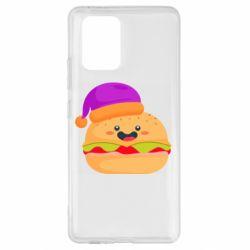 Чехол для Samsung S10 Lite Happy hamburger