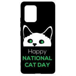 Чехол для Samsung S10 Lite Happy National Cat Day