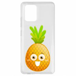Чехол для Samsung S10 Lite Happy pineapple