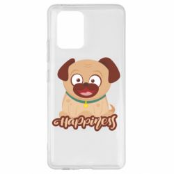 Чехол для Samsung S10 Lite Happy pug