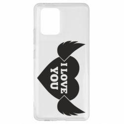 Чохол для Samsung S10 Heart with wings