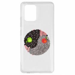 Чохол для Samsung S10 Hedgehogs yin-yang