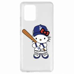Чохол для Samsung S10 Hello Kitty baseball