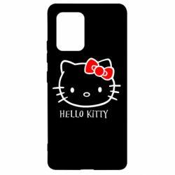 Чехол для Samsung S10 Lite Hello Kitty