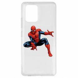 Чехол для Samsung S10 Lite Hero Spiderman