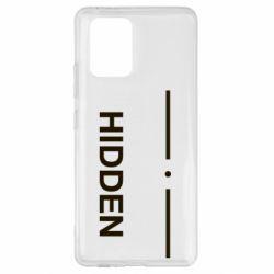 Чохол для Samsung S10 Hidden