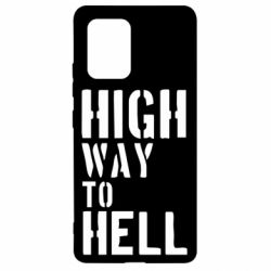 Чехол для Samsung S10 Lite High way to hell