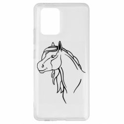 Чехол для Samsung S10 Lite Horse contour