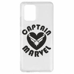Чохол для Samsung S10 I love Captain Marvel