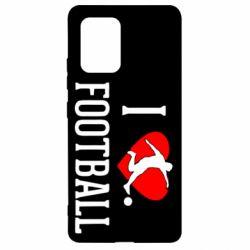 Чохол для Samsung S10 I love football