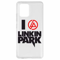 Чехол для Samsung S10 Lite I love Linkin Park