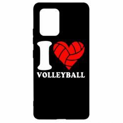 Чохол для Samsung S10 I love volleyball