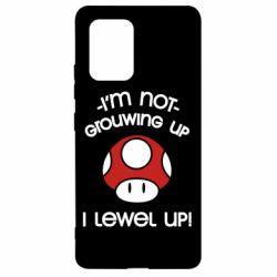 Чехол для Samsung S10 Lite I'm not growing up, i level up