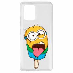 Чехол для Samsung S10 Lite Ice cream minions
