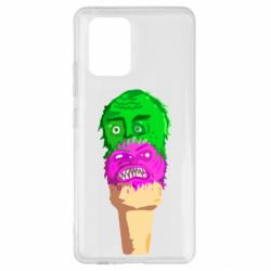 Чехол для Samsung S10 Lite Ice cream with face