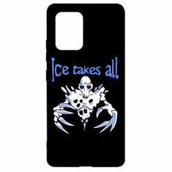 Чехол для Samsung S10 Lite Ice takes all Dota