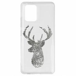 Чохол для Samsung S10 Imprint of human skin in the form of a deer
