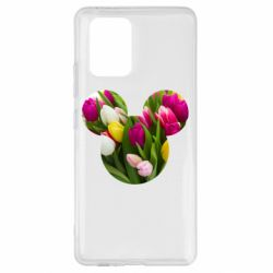 Чохол для Samsung S10 Inner world flowers mickey mouse