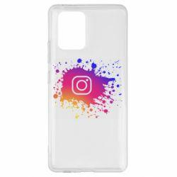 Чехол для Samsung S10 Lite Instagram spray