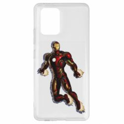Чохол для Samsung S10 Iron man with the shadow of the lines