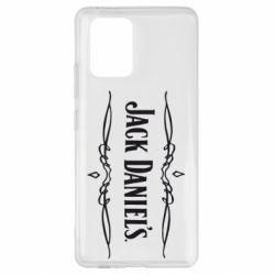 Чехол для Samsung S10 Lite Jack Daniel's Logo