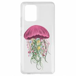 Чехол для Samsung S10 Lite Jellyfish and flowers