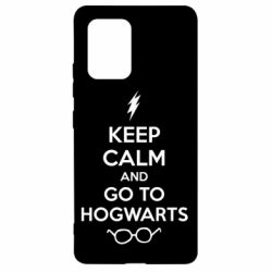 Чехол для Samsung S10 Lite KEEP CALM and GO TO HOGWARTS