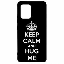 Чохол для Samsung S10 KEEP CALM and HUG ME