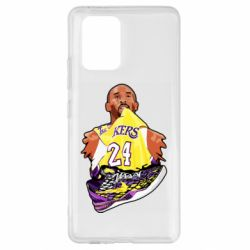 Чехол для Samsung S10 Lite Kobe Bryant and sneakers