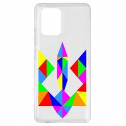 Чехол для Samsung S10 Lite Кольоровий герб